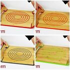 REVERSIBLE FREEFORM HOT PLATE TRAY BAMBOO & SILICONE - CHOICE OF 4 COLOURS