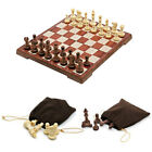 Magnetic Chess Board Folding Chessboard Travel Game Set Durable Plastic Sturdy