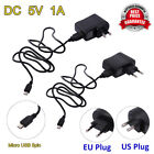 adapter 5v 1a - AC to DC Micro USB 5Pin 5V 1A Switching Power Supply Adapter EU/US Plug