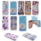 Flower Print Silicone Soft Flexible TPU Back Cover for Samsung Galaxy G360 G530