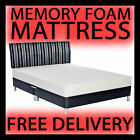MEMORY FOAM ORTHOPAEDIC MATTRESS DOUBLE KING 3FT 4FT 5FT VARIOUS DEPTH OPTIONS