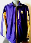 New Purple and Yellow Minnesota Vikings Football Jacket NFL Team Apparel