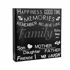 Large Black Text Cover Ring Binder Photo Album for 500 Photos 4 x 6''