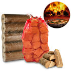 Pizza Oven Bundle - 10Kg Kiln Wood Fuel Heat Logs Outside Stonebaked BBQ Grill