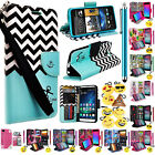 metro pcs to boost mobile - For Alcatel Kora/Alcatel A30 Wallet PU Leather Case Premium Pouch ID Case Cover