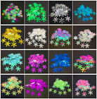 Внешний вид - New 100pcs 18mm Christmas Snowflake Loose Sequins Paillettes Sewing Craft U pick