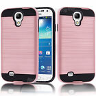 For Samsung Galaxy S4 Hybrid Hard Shockproof Matte Protect Case Cover Rose Gold