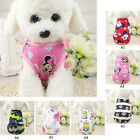 Cotton Printing Flower Cartoon Summer Pet Dog Shirt Vest Clothes Supplies BG