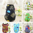 Pet Summer Cool Clothes Vest Puppy Dog Cat Cute T Shirt colorful Coat Costumes B