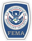 Homeland Security FEMA Reflective Decal Sticker CERT SAR Police EMS Rescue