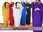 SALEAshan 6 Beautiful Kaftan Farasha Khaleeji Abaya Jilbab Maxi Dress