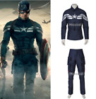 Captain America 2 The Winter Soldier Cosplay Costume Superhe