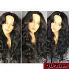 Body Wave Synthetic Lace Front Wigs Black Heat Resistant Synthetic Wig for Women