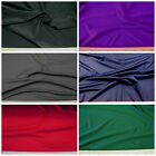 Discount Fabric Choose Your Color Microfiber Polyester Spandex 4 way stretch LY