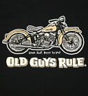 "OLD GUYS RULE PANHEAD W/POCKET "" LOUD FAST AND BUILT TO LAST "" S/S M,L,XL,2X,3X"