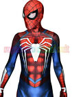 Insomniac Spiderman Costume Halloween Cosplay PS4 Insomniac Games Spiderman Suit