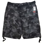 SOUTHPOLE BIG MEN'S CARGO SHORTS 13.5 INCH LENGTH CAMOUFLAGE STYLE 9007-3345