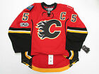 MARK GIORDANO CALGARY FLAMES HOME 100th ANNIVERSARY REEBOK EDGE 20 7287 JERSEY
