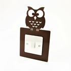 Owl Switch Surround, Birds, Animals, Bedroom, Playroom, Nursery, 36 Colours
