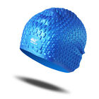 Brand New Unisex Swimming Caps Bathing Waterproof Silicone Suit Long hair