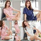 HOT Women's Floral Pajamas Evening Sleep Wear Comfortable Sets Nightdress Wear