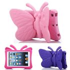 Kids Light Weight Cute Butterfly Eva Shock Proof Case Cover Stand For Ipad
