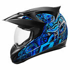 Icon Variant Cottonmouth Helmet, Blue - All Sizes!