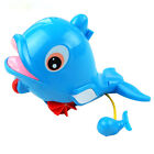 2017 Cute Plastic Wind-up Animal Clockwork Baby Kids Swiming Bath Water Fun Toy