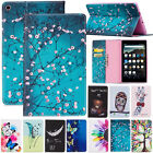 "For Amazon Kindle Fire HD 8 8"" 2018&2017 Pattern Wallet Leather Case Flip Cover"