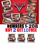 PANINI  ***CARS 3***  STICKERS  BUY 4 GET 10 FREE!! FREE 1ST CLASS POSTAGE!!