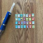 2000 Nintendo Pokemon writing pen with removable mini cards collectable