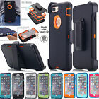 For Apple iPhone 6S 7 Plus 5 Hybrid Rugged Shockproof Hard Protective Case Cover