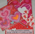 Love Heart Valentine  Romance pink Napkins table cover banner cake picks