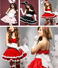 Sexy Bunny Rabbit Christmas Xmas Party Cosplay Costume Girls Ladies Fancy Dress