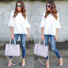 Fashion Ladies Casual Tops T-Shirt Women Summer Loose Top Short Sleeve Blouse