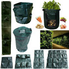 Garden Plant Growing Container Hanging Bag Round Pots Greening Pockets Pouch