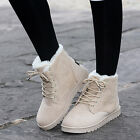 Kyпить Womens Winter Warm Casual Faux Suede Fur Lace-up Ankle Boots Snow Boots Shoes на еВаy.соm