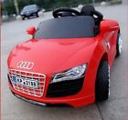 Audi R8 Sports 12v Battery Electric Ride on Car + Remote Control For children