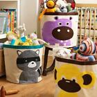 Sweet Large Kid Animal Sundries Clothes Bags Basket Toys Storage Bin Barrel Bag