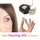 Rechargeable Mini Adjustable Tone In Ear Digital Hearing Aids Sound Amplifier