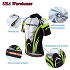 Bike Jerseys Men's Tops Quick Dry Cycling Shirts Stretchable Bicycle Clothing