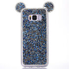 Luxury Bling Glitter Soft TPU Case Mickey Back Cover For Samsung S8 Plus Note 8