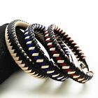 New Handmade Bracelet Genuine Leather Wristband Men's Women Bangle Jewelry Gift