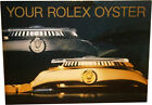 Vintage Your Rolex Oyster English Operating Instructions Booklet 1986 or 1989