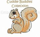 CUDDLE BUDDIES COLLECTION - MACHINE EMBROIDERY DESIGNS ON CD