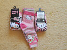 Girls Hello Kitty Socks 2 Pack Size 6/8.5, 3 Pack Size 9/12