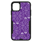 OtterBox Commuter for iPhone 7 8 Plus X XS Max XR Purple White Floral