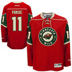 New Mens REEBOK NHL PREMIER JERSEY Zach Parise Red Home Minnesota Wild