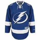 New Mens REEBOK NHL PREMIER JERSEY Blue Tampa Bay Lightning