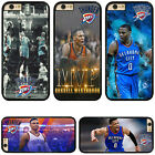 Oklahoma City Thunder Russell Westbrook Hard Phone Case Cover For iPhone Samsung